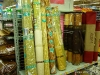 Bambus-Matten im Supermarkt