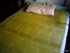 Bambus-Matte im Einsatz