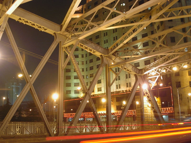Brücke über den Suzhou Creek