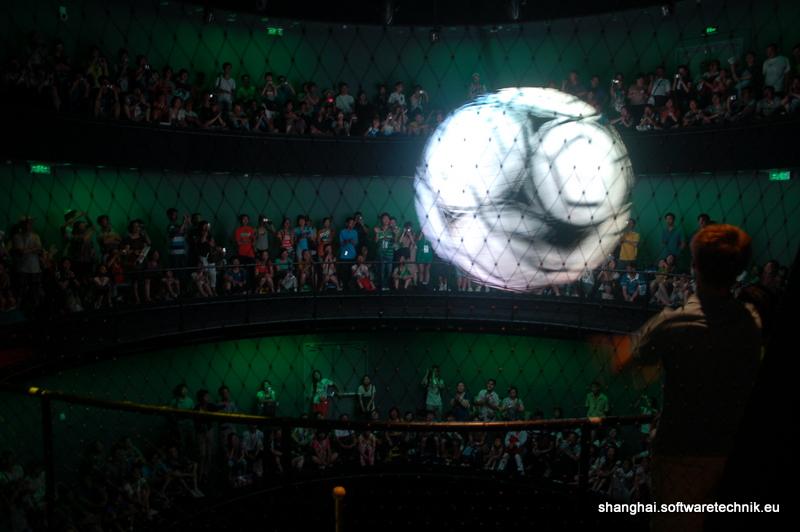 Der LED-Ball