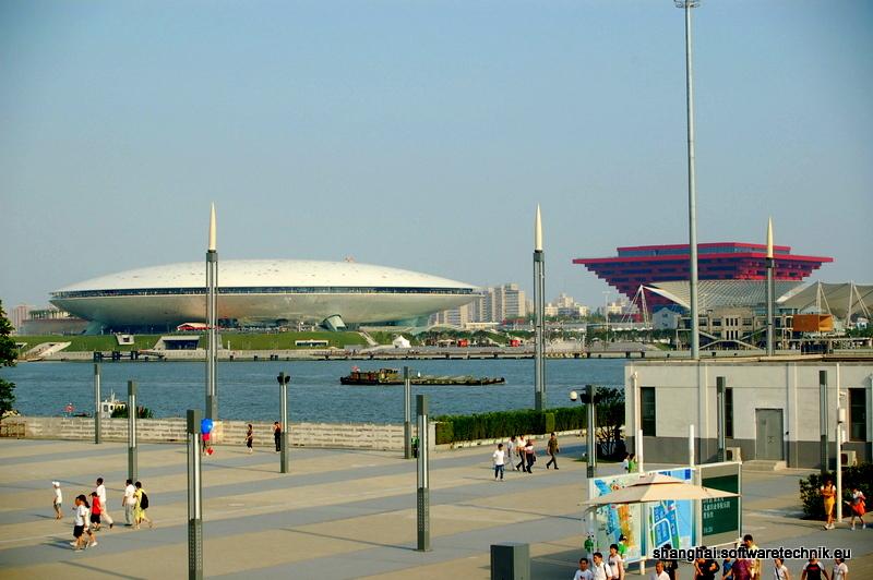 Kulturzentrum und chinesischer Pavillon