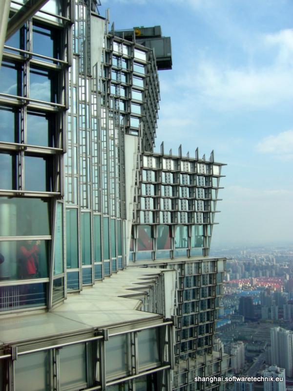 Aussichtsdeck des Jin Mao Buildings