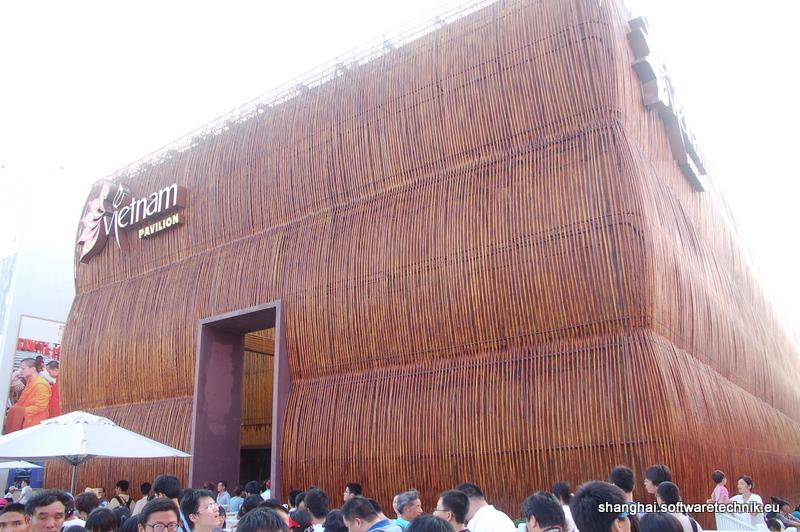 Der Bambus-Pavillon von Vietnam