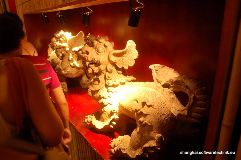 Statue eines Vietnamesischen Drachen