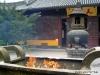 Longhua Tempel Heiliges Feuer