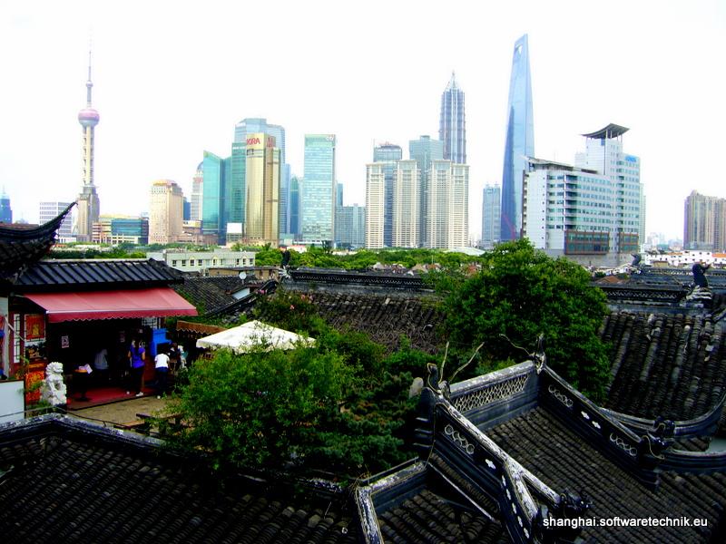 Die Dächer der Altstadt