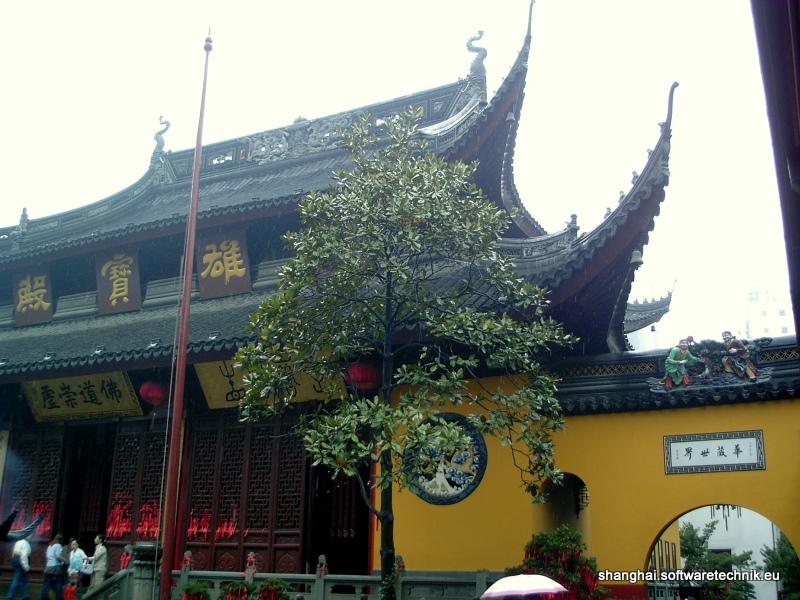 Halle im Yufo Tempel
