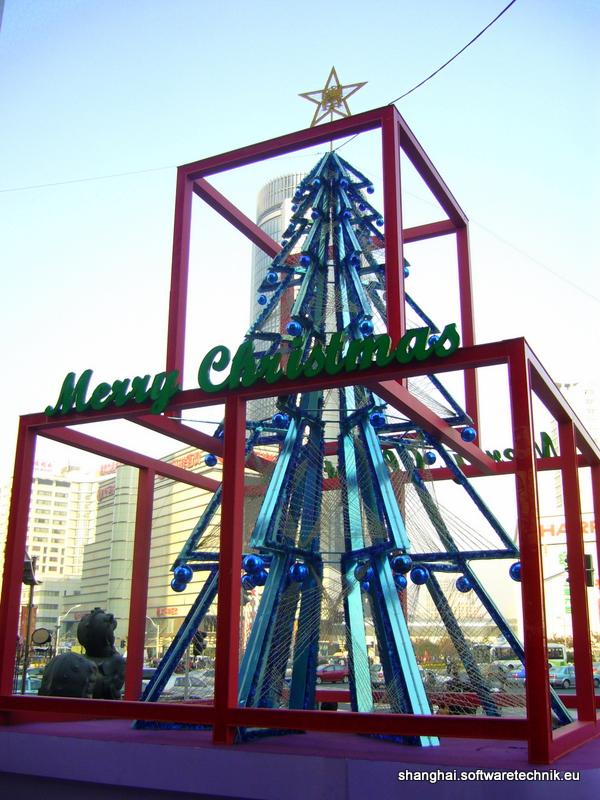 Weihnachtsbaum in Xuijiahui