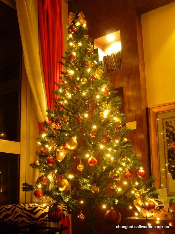 Unser eigener Weihnachtsbaum