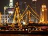 Nachts auf dem Huangpu