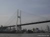 Pudong: Blick auf die Brücke