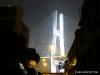 Pudong: Beleuchteter Pylon